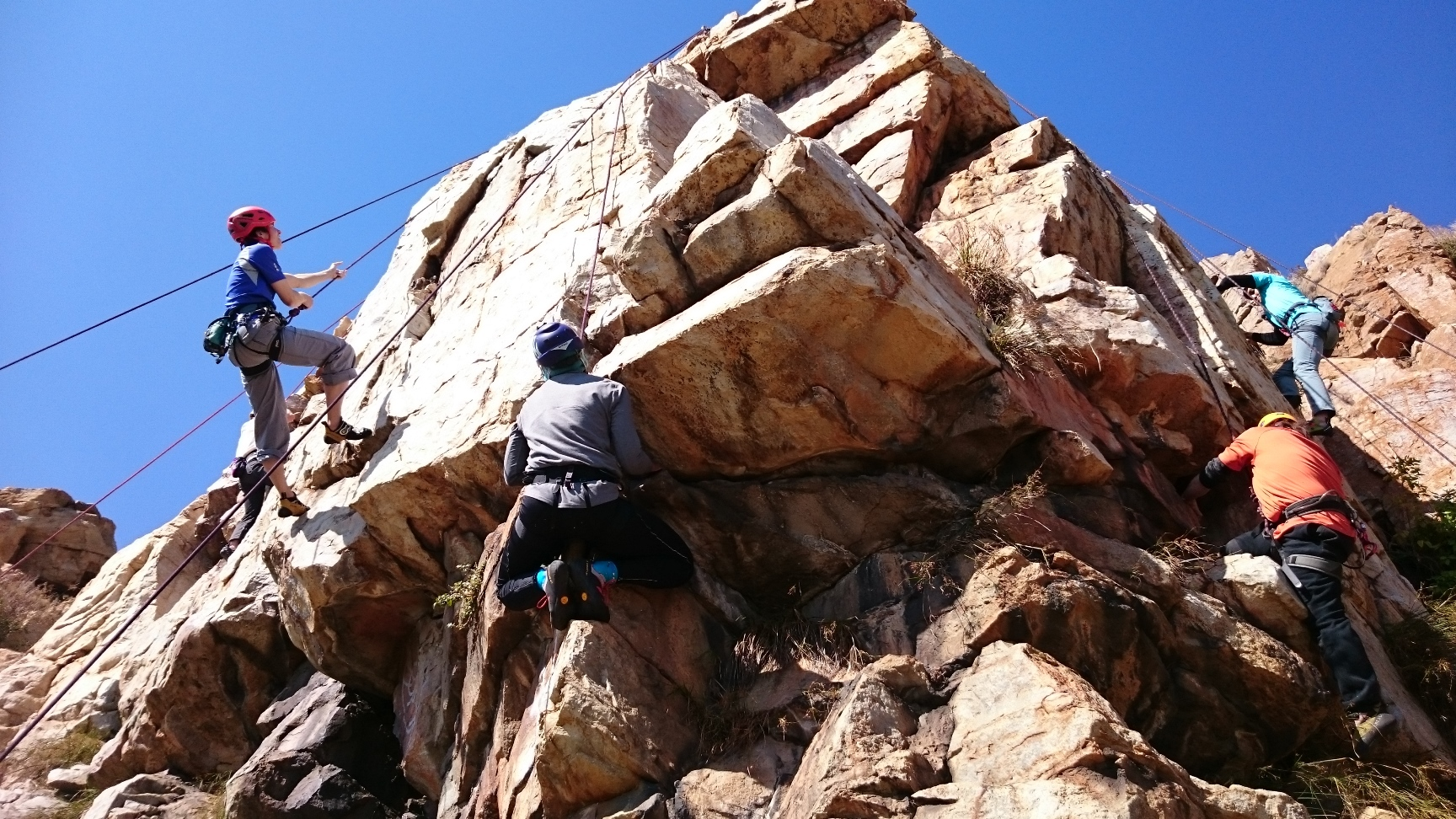 Rock Climbing at Northcliff Ridge