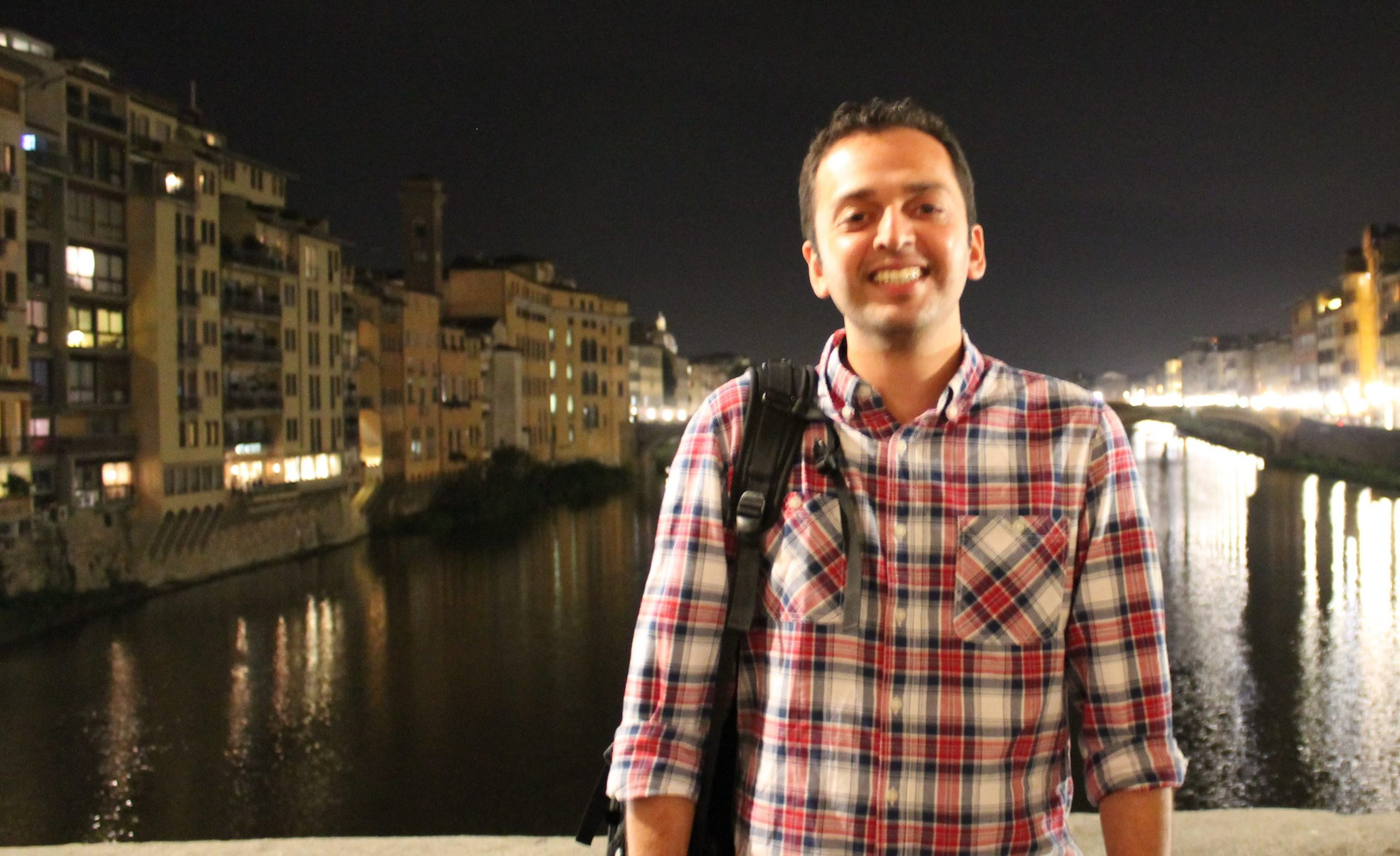 Piazza Republika and River Arno in Florence