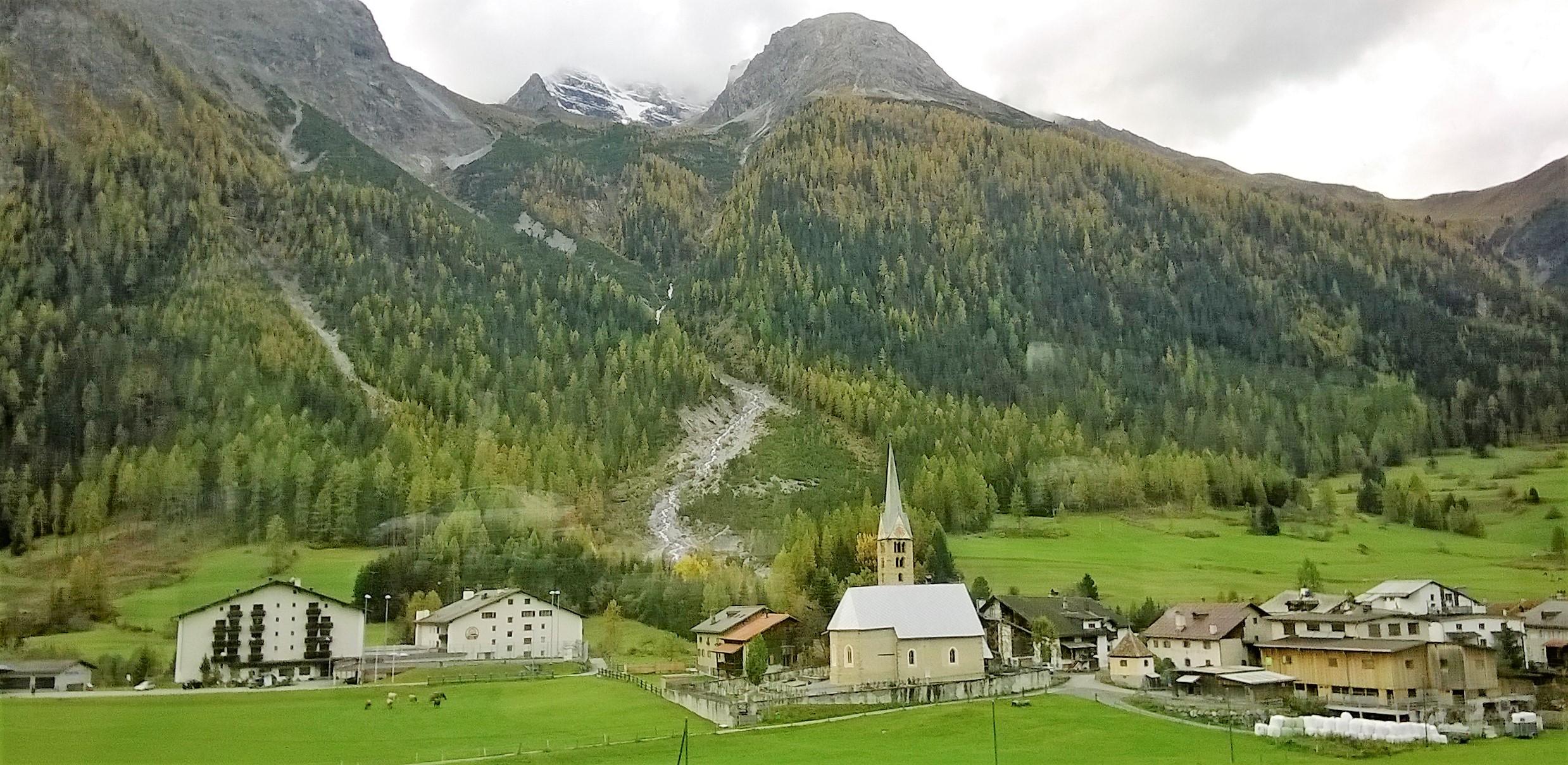 St Moritz to Zurich (Switzerland) then Stuttgart (Germany)