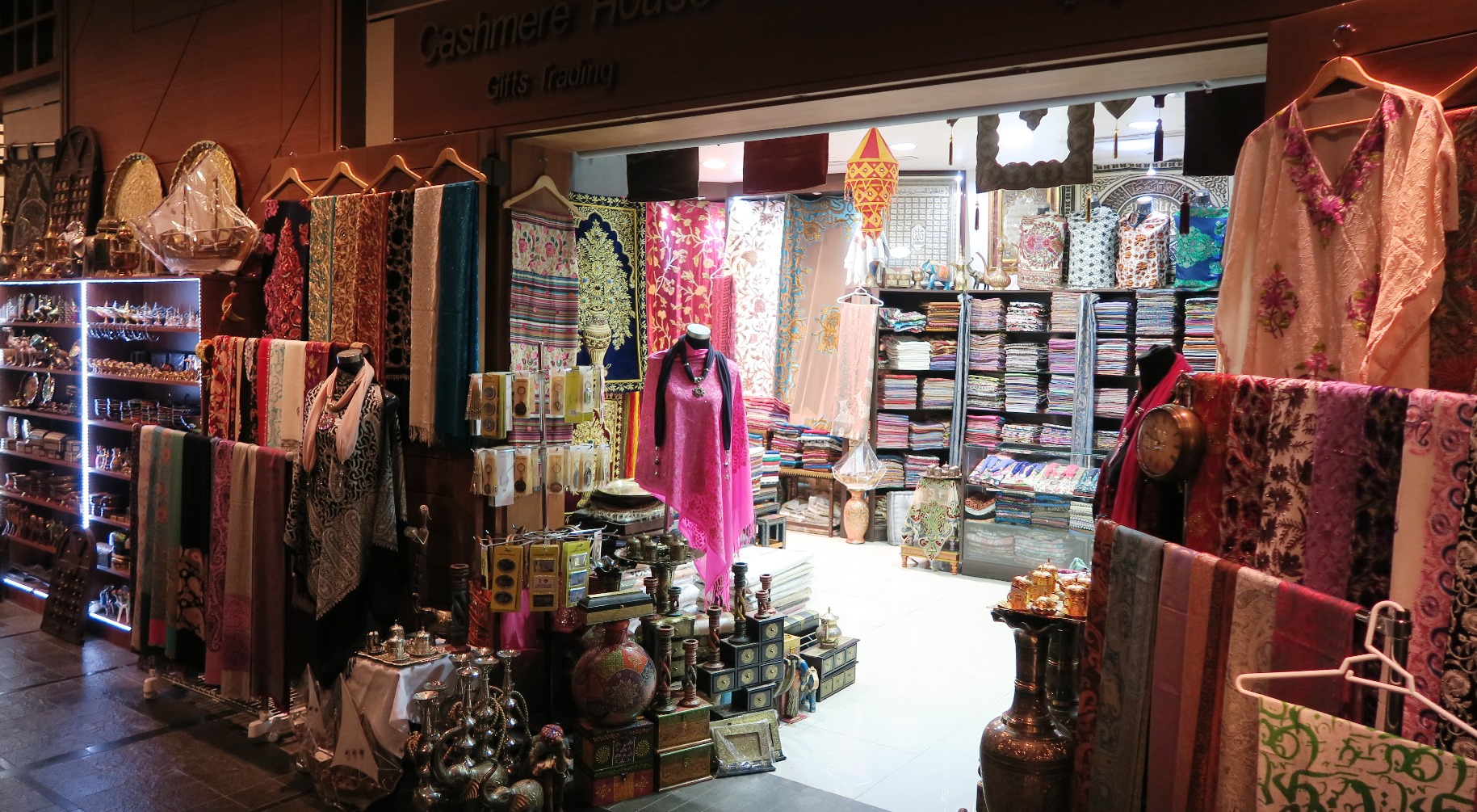 The Souks of Abu Dhabi, UAE