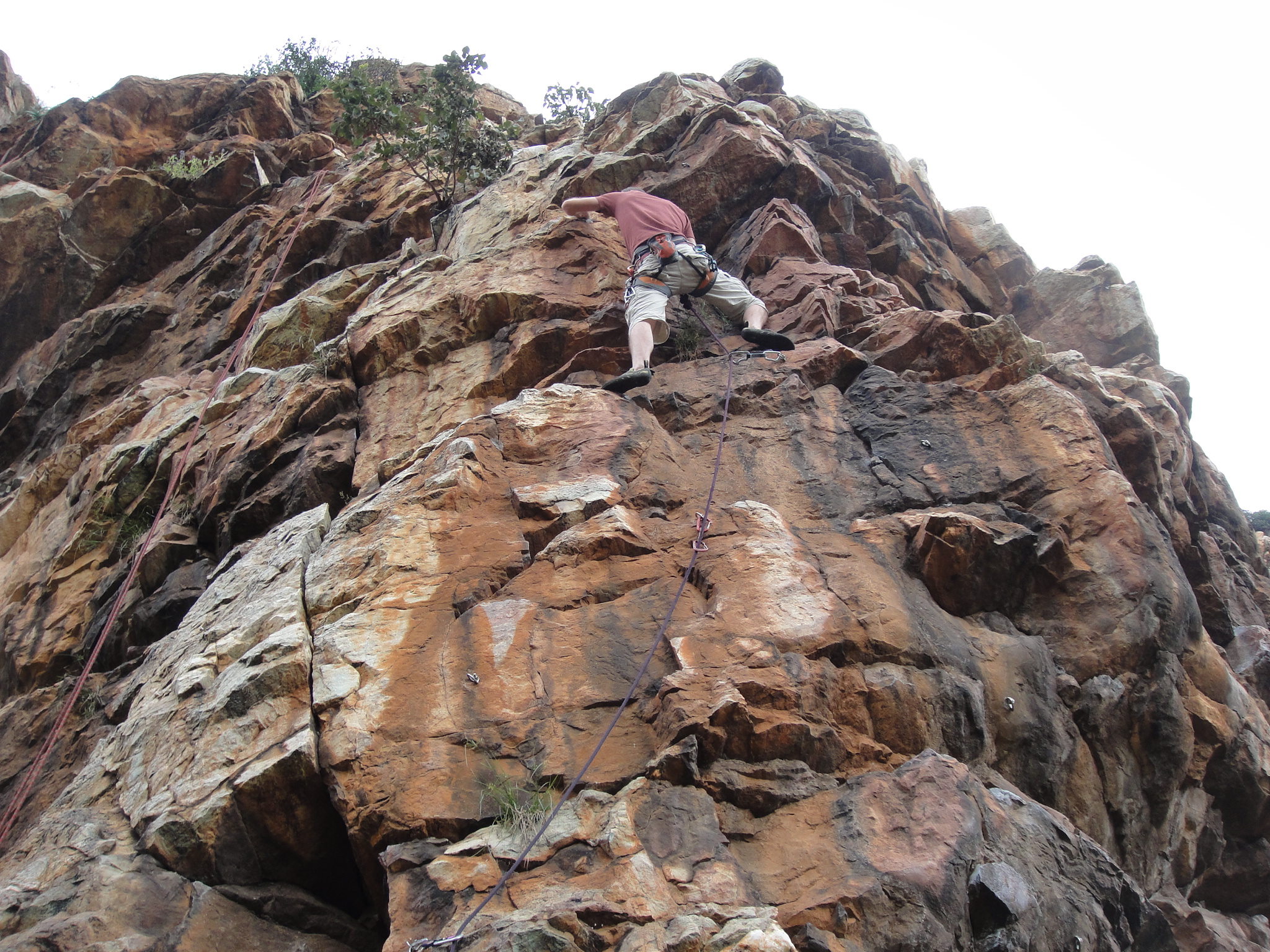 Rock Climbing at Kings Kloof, Krugersdorp