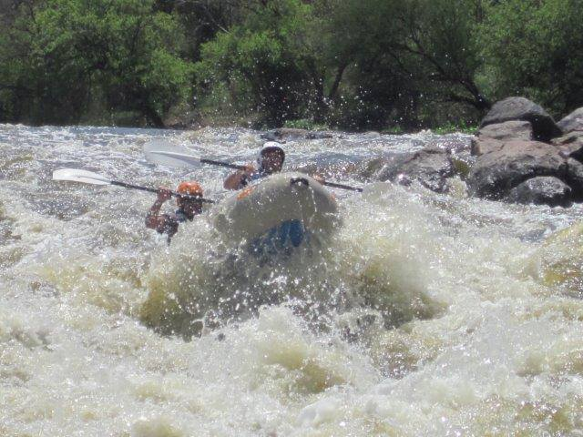 Vaal River white water rafting in Parys