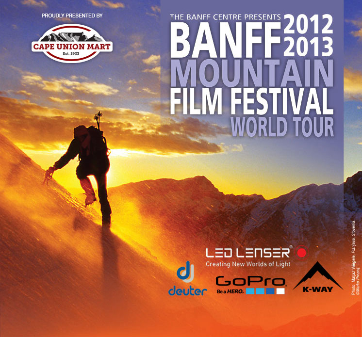 Thoughts on the BANFF Mountain Film Festival World Tour 2013 screening in SA