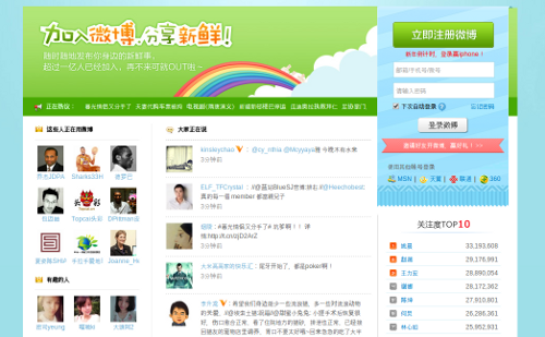 Sina Weibo, la red social china