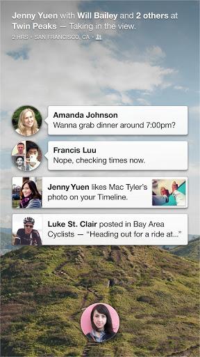 Facebook Home, tomando el control del teléfono del usuario