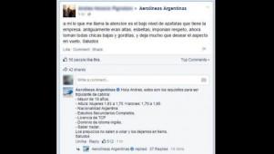 Estrategia Social Media Aerolíneas Argentinas