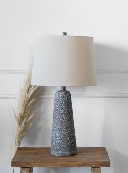 LAMPARA DE MESA KAZAN NEGRA