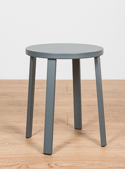 MESA LATERAL MANET GRIS