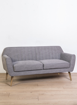 SOFA RIEMIN GRIS CANVAS
