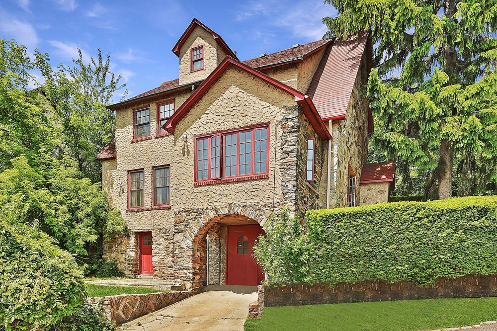 4-Bd. 1930s Stone & Stucco House w/ Grassy Yards & 2 Patios at 2714 Netherland Ave.