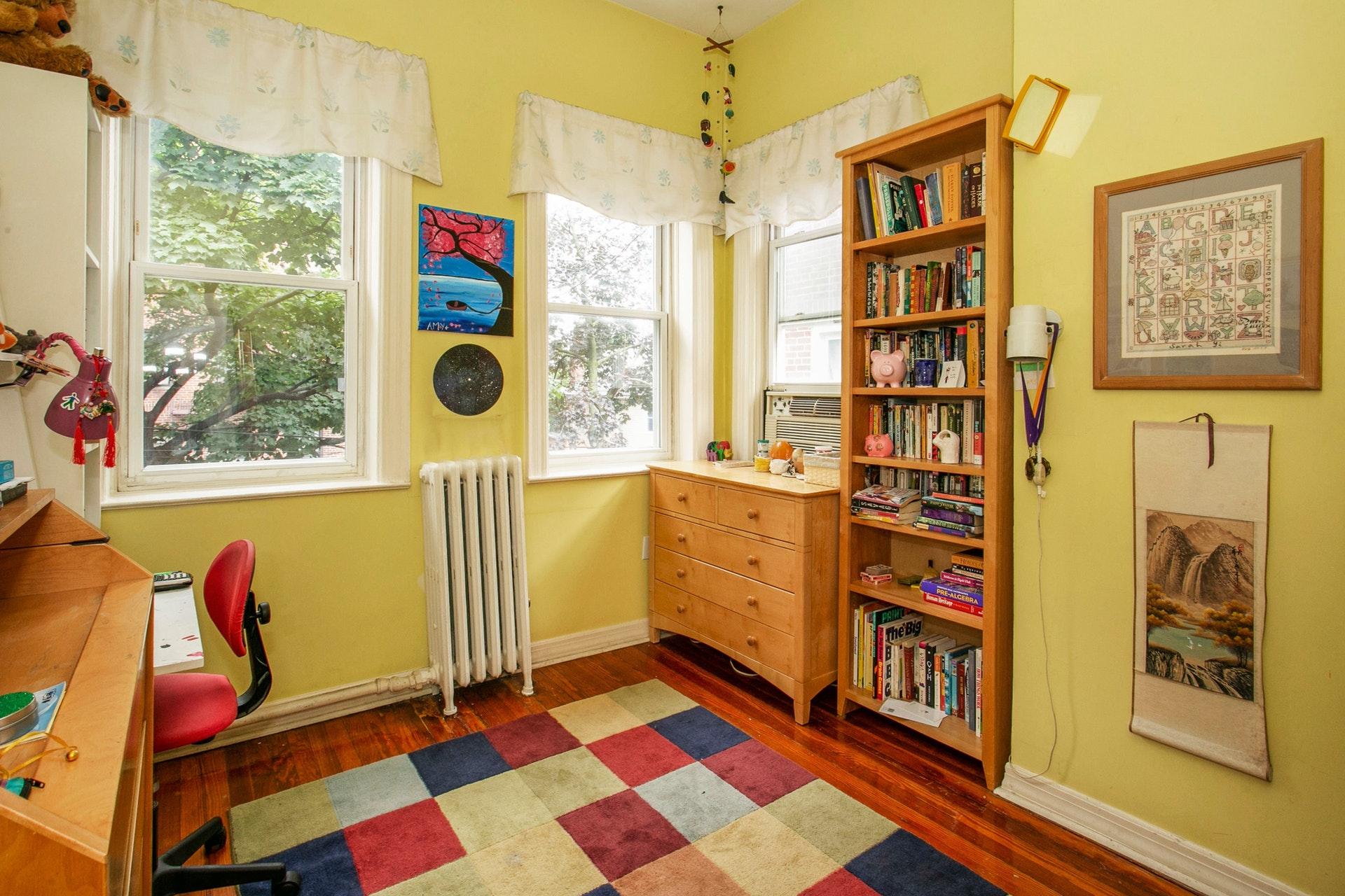 4-Bd. Brick House w/ High Ceilings, Charming Deck & 2-Car Garage