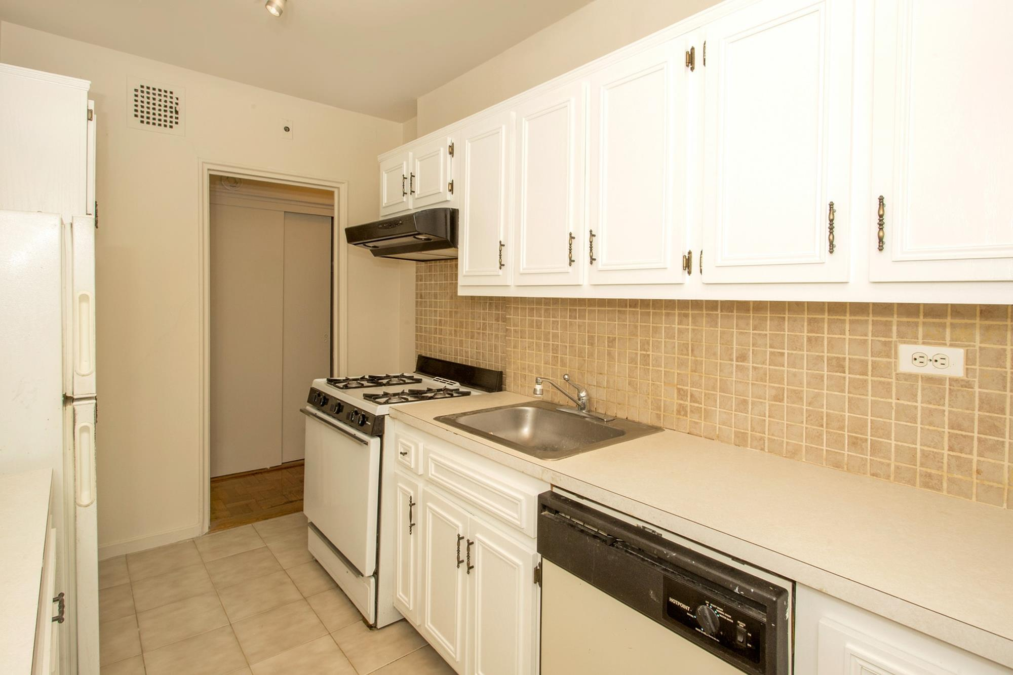 Junior-4 (Converted to 2-Bd.) Co-op w/ Balcony & Doormen at 2601 Henry Hudson Parkway