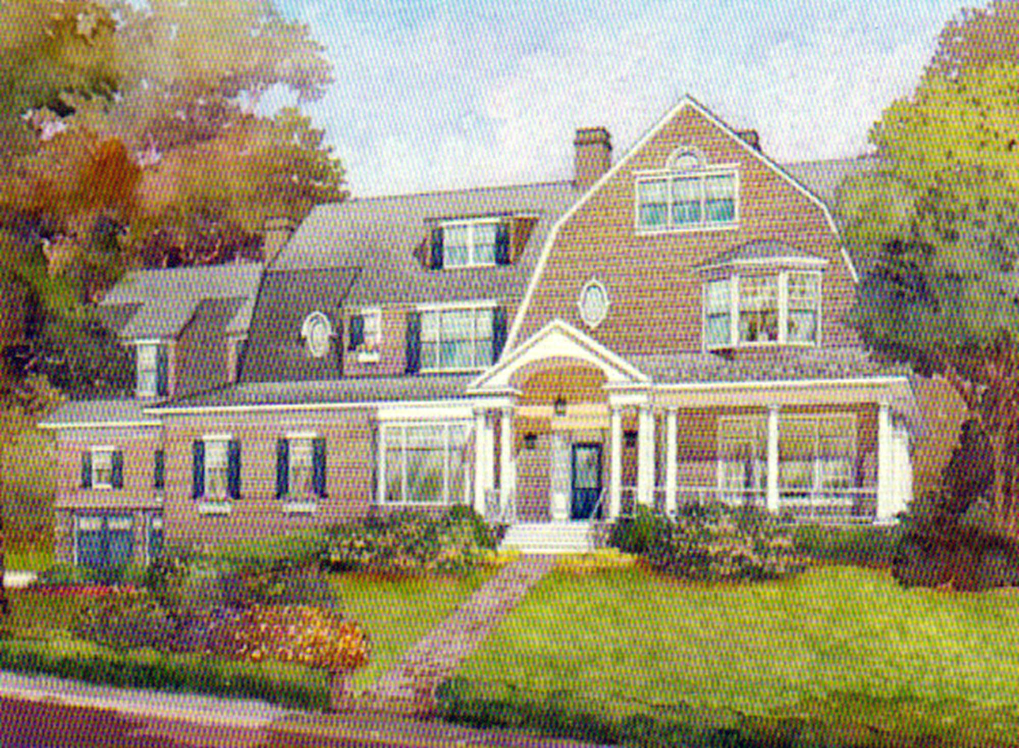 FIELDSTON VICINITY – Superb 6-Bd. Dutch Colonial-Style Mansion w/ Pool