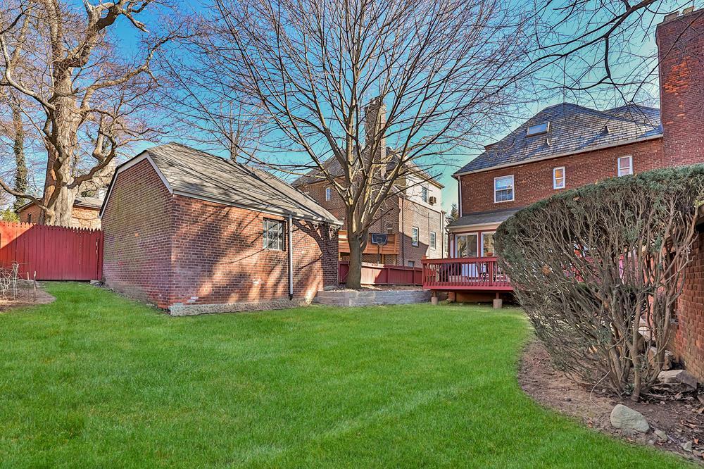 Spacious, Handsome 5-Bd. Tudor House w/ Patio & Level, Grassy Yard