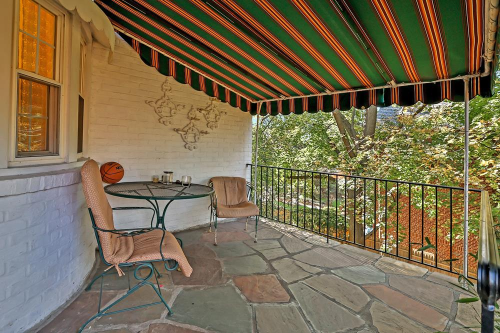 4-Bd. Stone & Brick Colonial w/ Lawns & Patio on a Double Lot