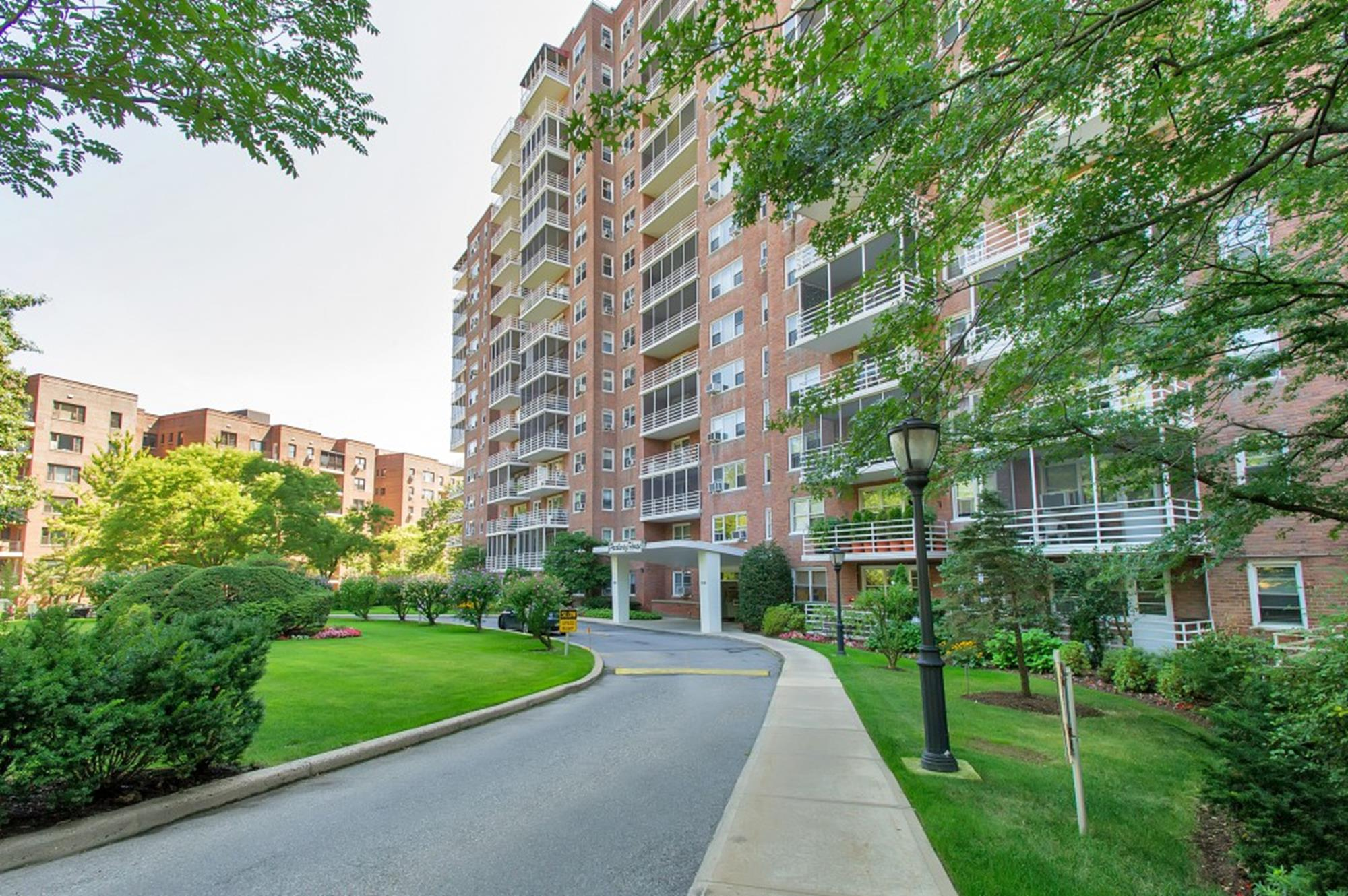 Spacious & Renovated Junior-4 Co-op w/ 2nd Bd. + Balcony & 24-hr. Doormen at Parkway House