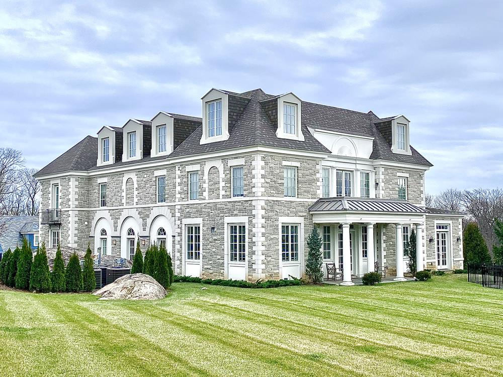 RENTAL -- RIVERDALE MANSION:  Grand 8-Bedroom, 6.5-Bath, 10,700+ sq. ft., American Chateau-style house in exclusive, private community.  Multiple porches & commanding views.  Private outdoor swimming pool.  Attached 4-car garage. Exquisite details & luxurious amenities.