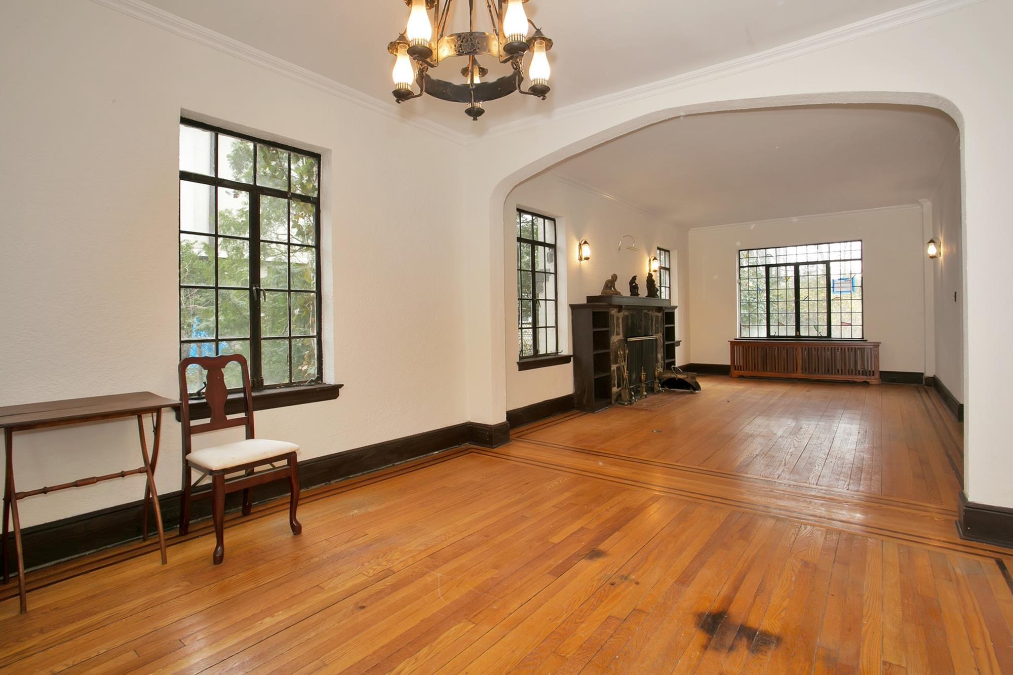 ESTATE AREA: Charming 4-Bd. Tudor-Style House w/ Patio at 4616 Independence Ave.