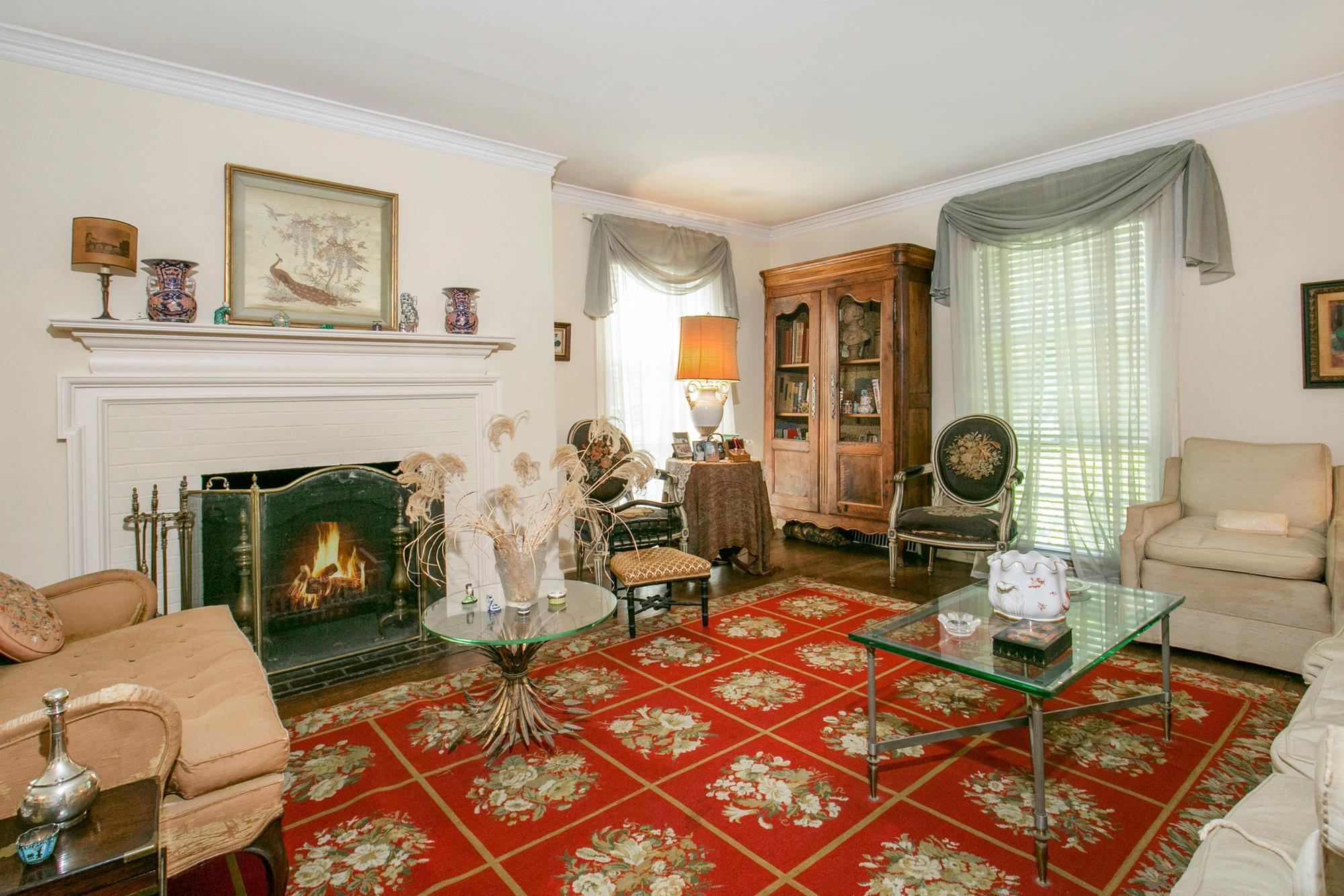ESTATE SALE -- : Quaint & Charming 3-Bd. Brick House w/ Large, Level, Grassy Yard + Patio & Garden