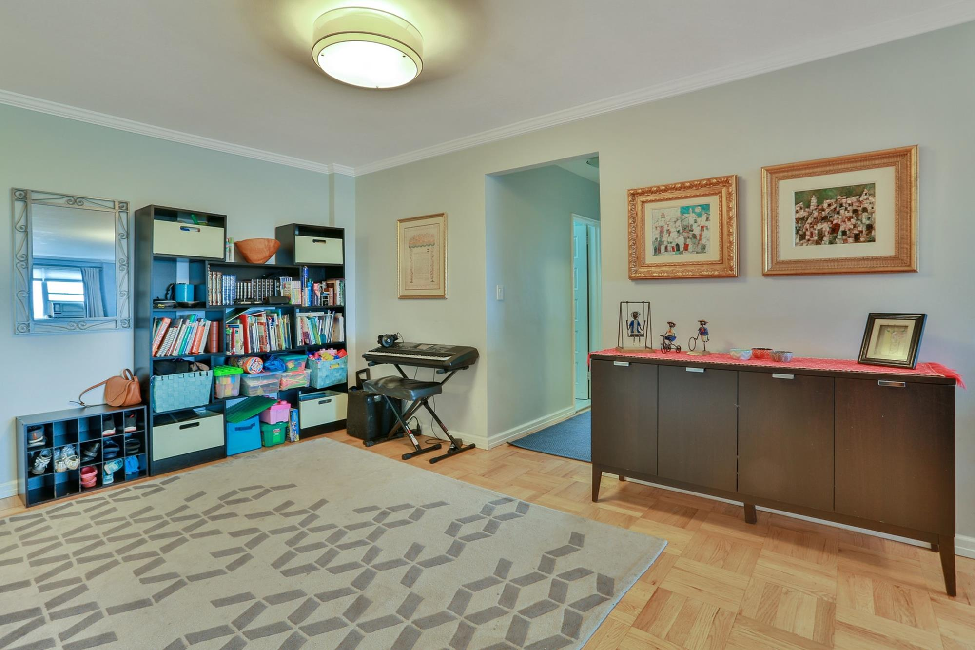 Spacious & Renovated 3-Bd. Co-op w/ Spectacular Oversized Kitchen,  Sunrise Balcony & 24-hr. Doormen at Parkway House