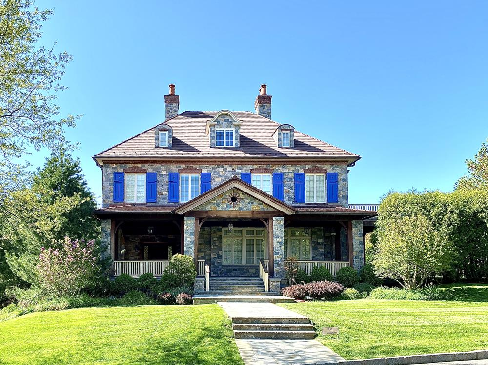 Spectacular 7-Bd. French Provincial-Style Mansion w/ Pool & Yard