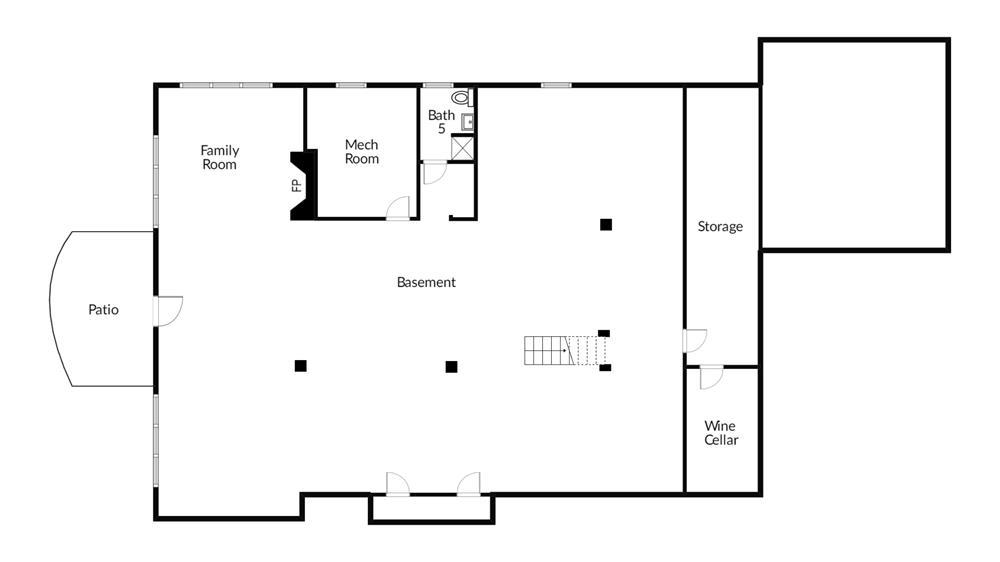 Stylish & Light-Filled 4-Bd. Brick & Stone House w/ Impressive Grounds & Private-Association Pool on Leafy Cul-de-Sac