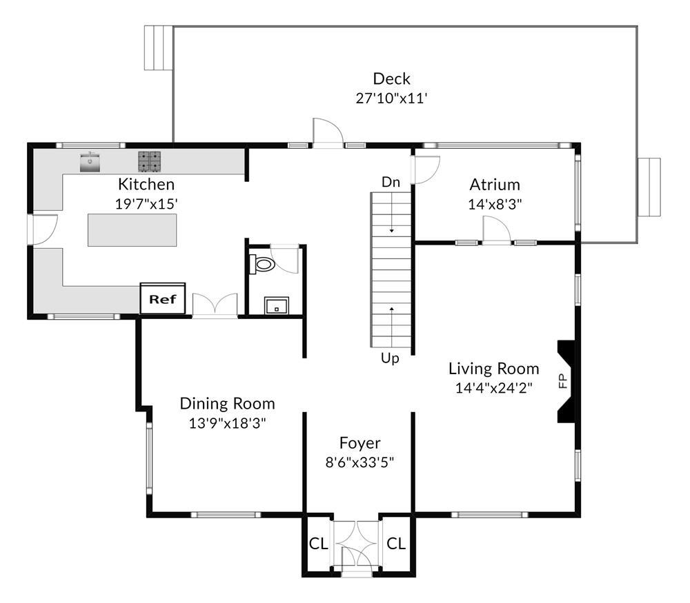 Renovated 5-Bd. Tudor-Style House on Cul-de-Sac