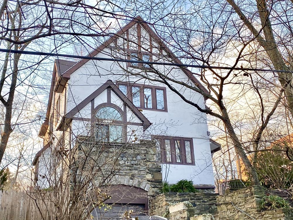 Spacious 4-Bd. Tudor-Style House with Patio & Grassy Yard