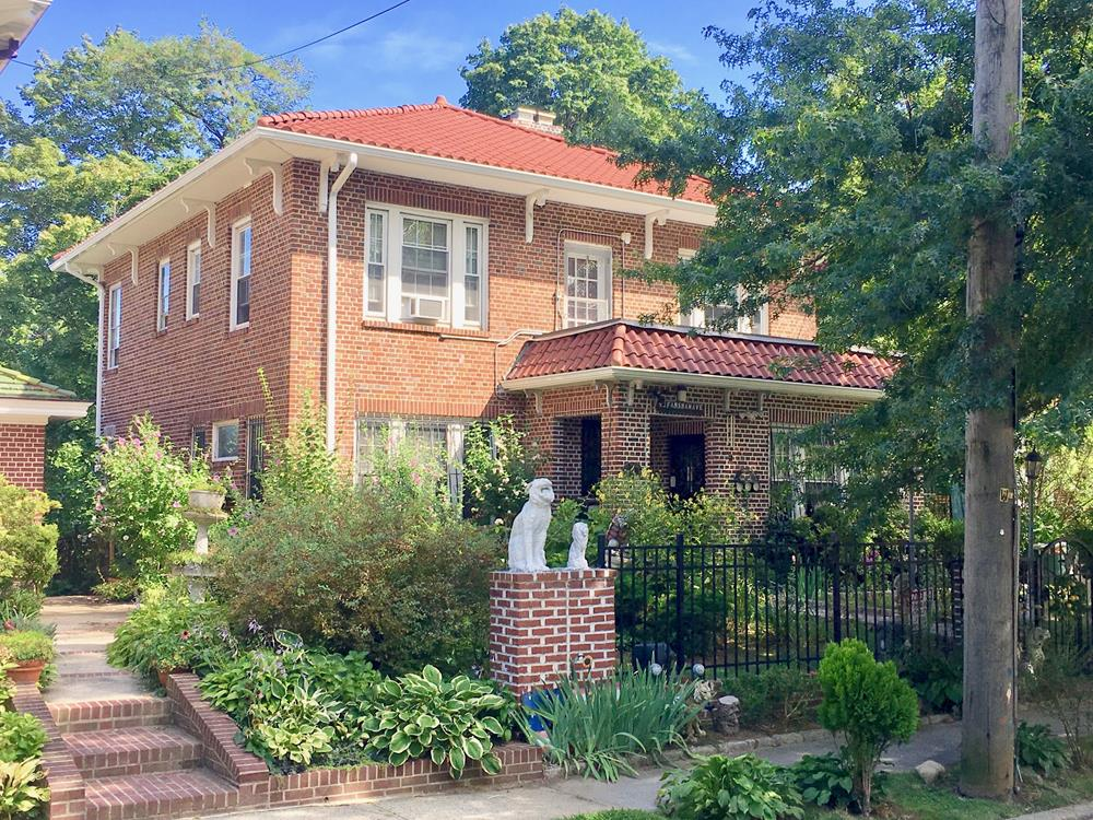 Spacious 4-Bd. Brick House w/ Backyard & Patio on Tree-Lined Street
