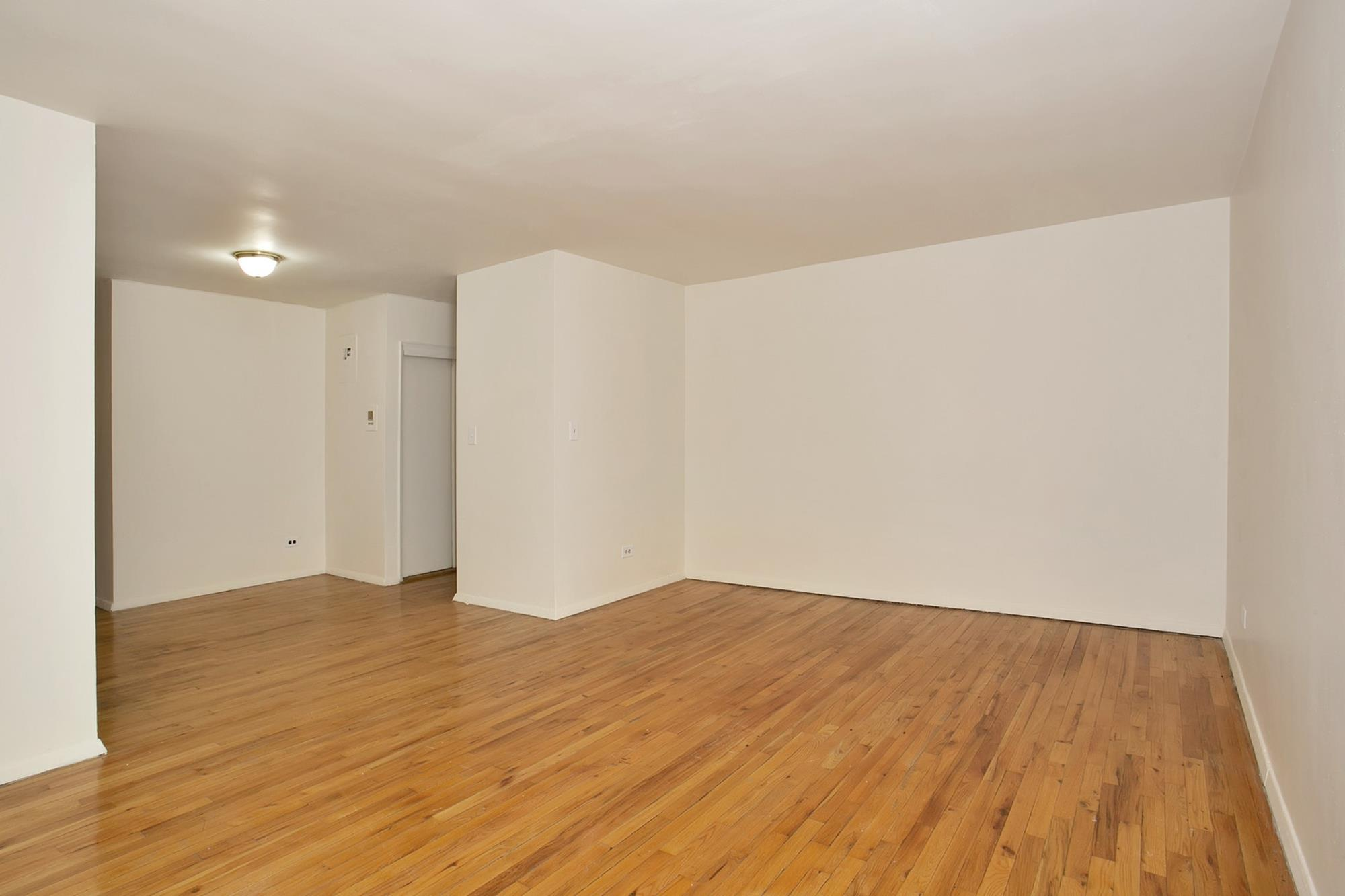 LOW MONTHLY MAINTENANCE: 1-Bd. Co-op w/Leafy Park View at 6601 Broadway