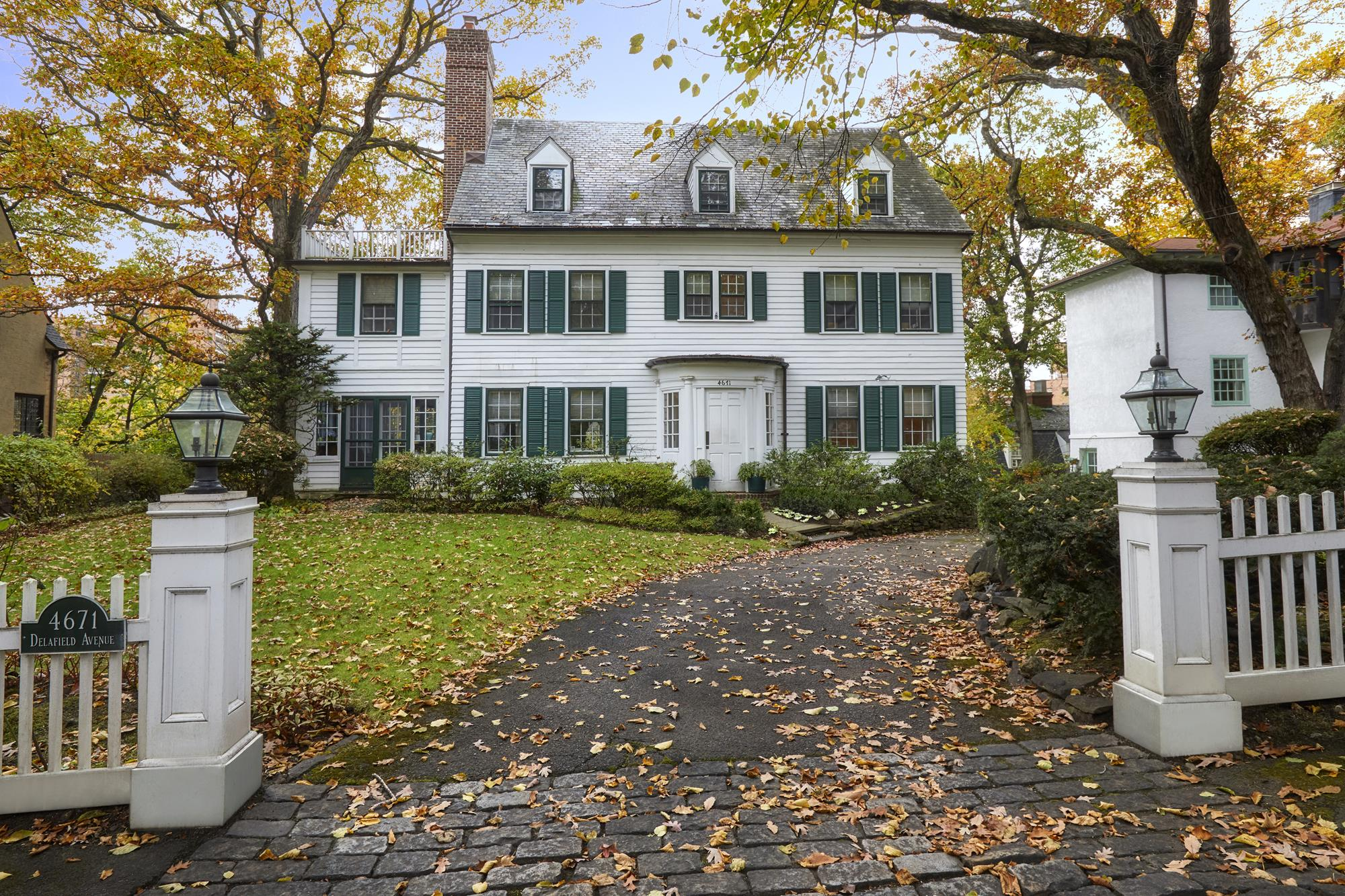 Spacious 7-Bd. Center Hall Colonial on Delafield Avenue