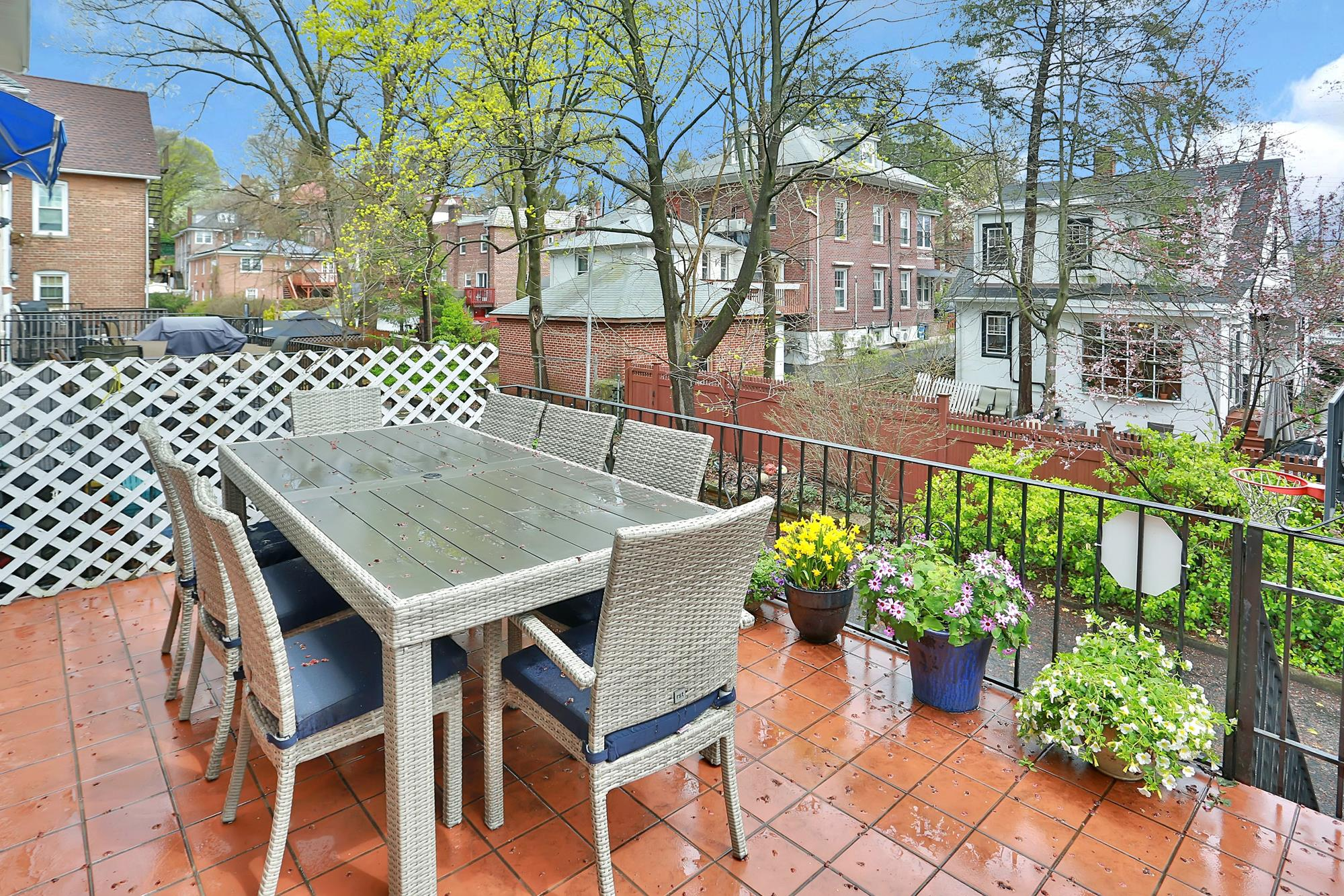 Renovated Picturesque 4-Bd. Brick & Stucco House w/ Decks, Patio & Yard