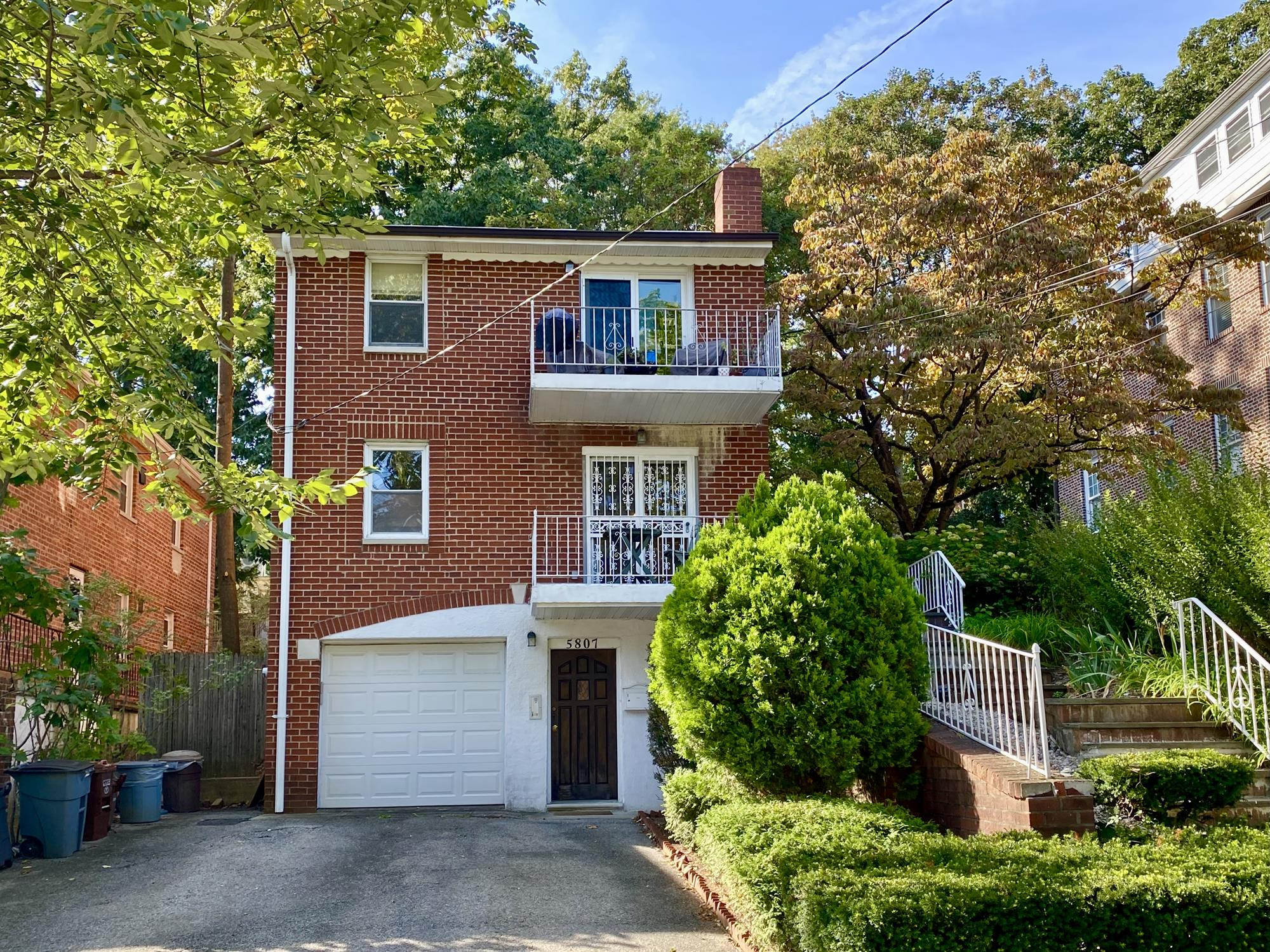 Multi-Family Townhouse with Yard & Patio + Driveway & Garage