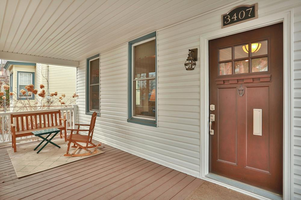 Fully Renovated 3-Bd. House w/ Front Porch, Patio, Garden & 3-Car Garage