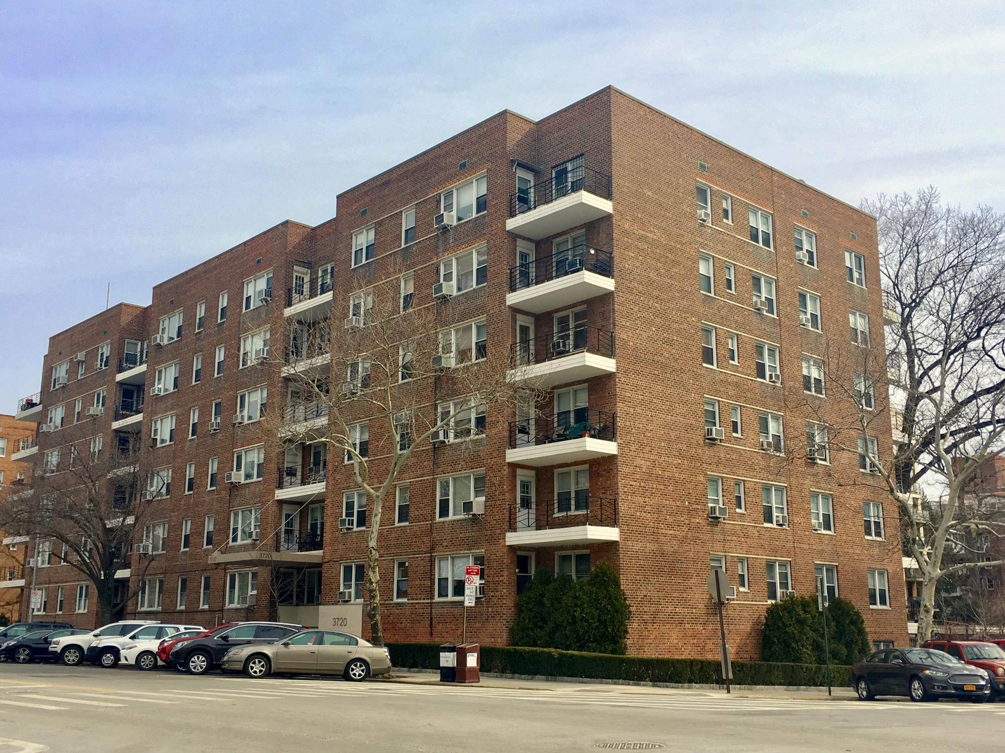 WEST OF PARKWAY: Spacious & Bright 2-Bd. Co-op w/ Balcony at 3720 Independence Ave.