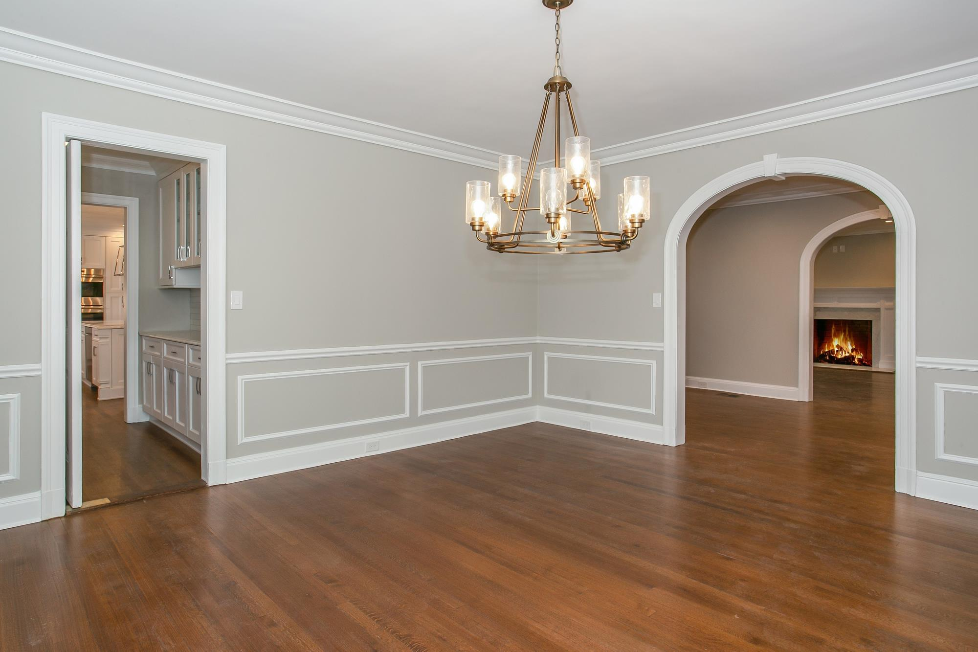 RENOVATION -- : Classic 4-Bd. Brick Center-Hall Colonial on Grosvenor Avenue