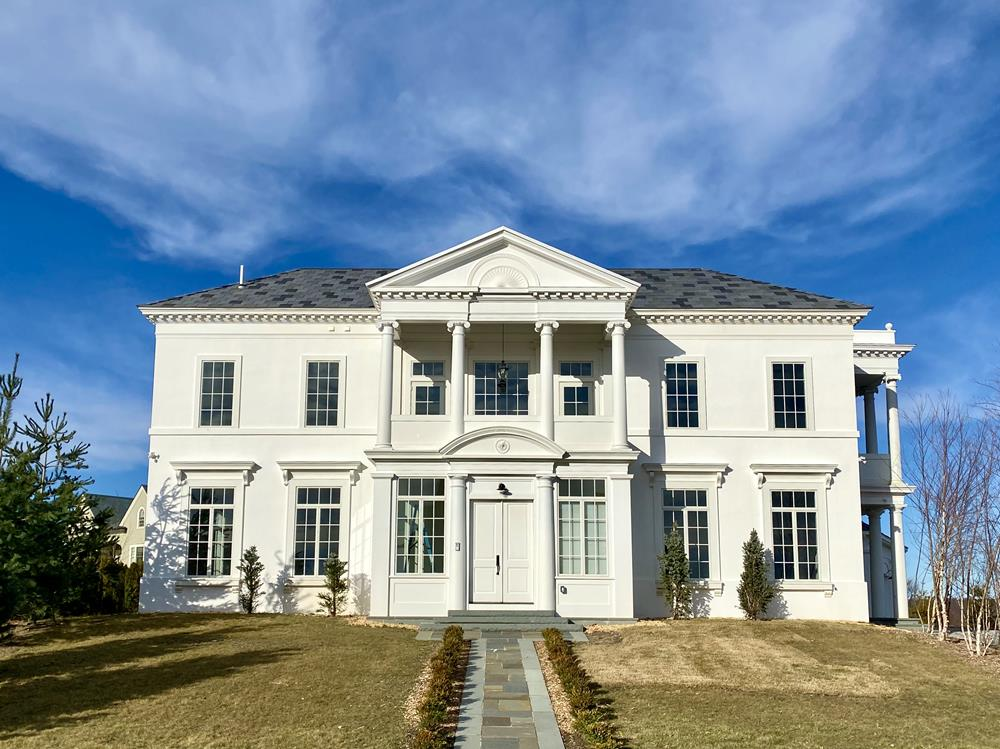 Stately 8-Bd. Neoclassical Mansion w/ Pool & Spacious Yard