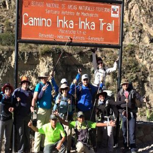 alpaca expeditions - inca trail image