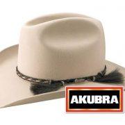 Akubra Rough Rider Western Felt Hat - Light Sand