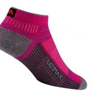 Wigwam Ultra Cool Lite Low Socks - Pink Scramble