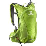Salomon Agile 12 Set Trail Running Hydration Backpack - Granny Green
