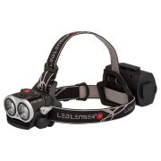 LED Lenser XEO19R - 1000 LUMENS Rechargeable Head Lamp Soft Case with Sleeve - Black