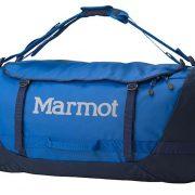 Marmot Long Hauler 50L Weatherproof Duffle Bag and Backpack Medium - Peak Blue/Vintage Navy