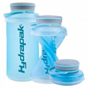 Hydrapak 1Ltr Compact And flexible Stash Bottle - Blue