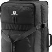 Salomon Container 100L Wheeled Travel Bag - Black