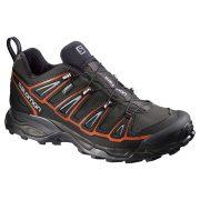 Salomon X Ultra 2 GoreTex Mens Hiking Boot - Autobahn/Black/Tamato Red