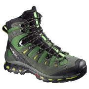 Salomon Quest 4D 2 GoreTex Men's Hiking Boots - Tonic Green/Night Forest/Green Glow