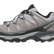 Salomon X Ultra LTR Womens Light Hiking Shoe - Pewter/Detroit/Igloo Blue