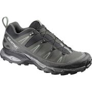 Salomon X Ultra LTR Mens Light Hiking Shoe - Black/Autobahn/GreenClay