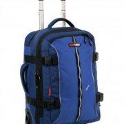 Black Wolf Kinetic 45L Wheeled carry-on Bag - Blue